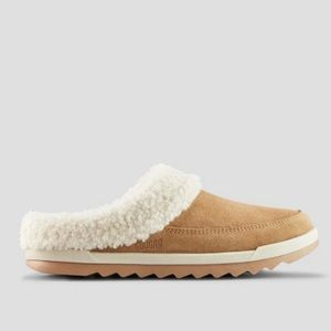 New Cougar Liliana Suede Mules Slippers Shoes Shearling